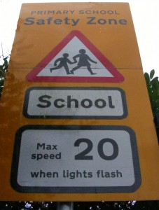 School Safety sign