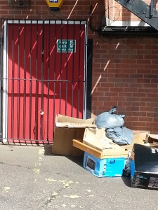 Barred Door with Rubbish 20150606_155001