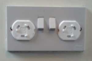 Electrical Covers in use